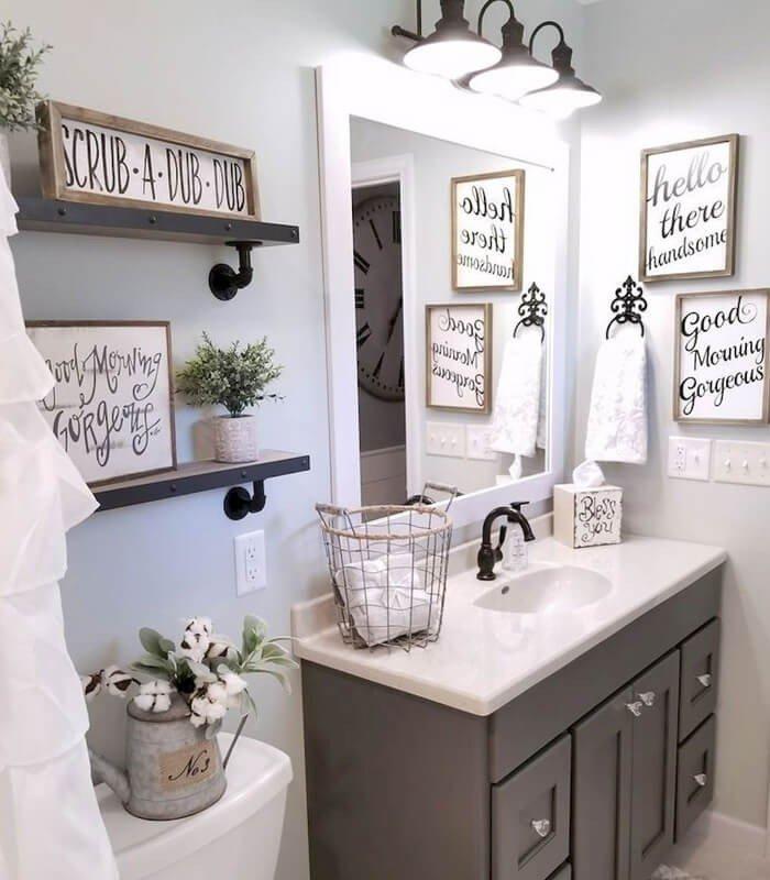 Decoração Para Banheiro Simples
