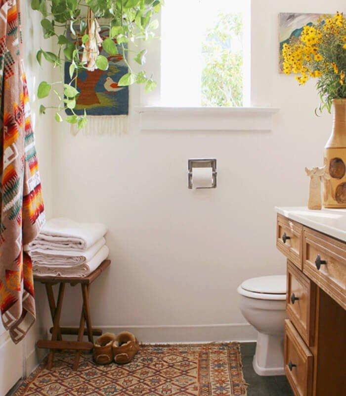 Banheiro Tapeçaria Decoração