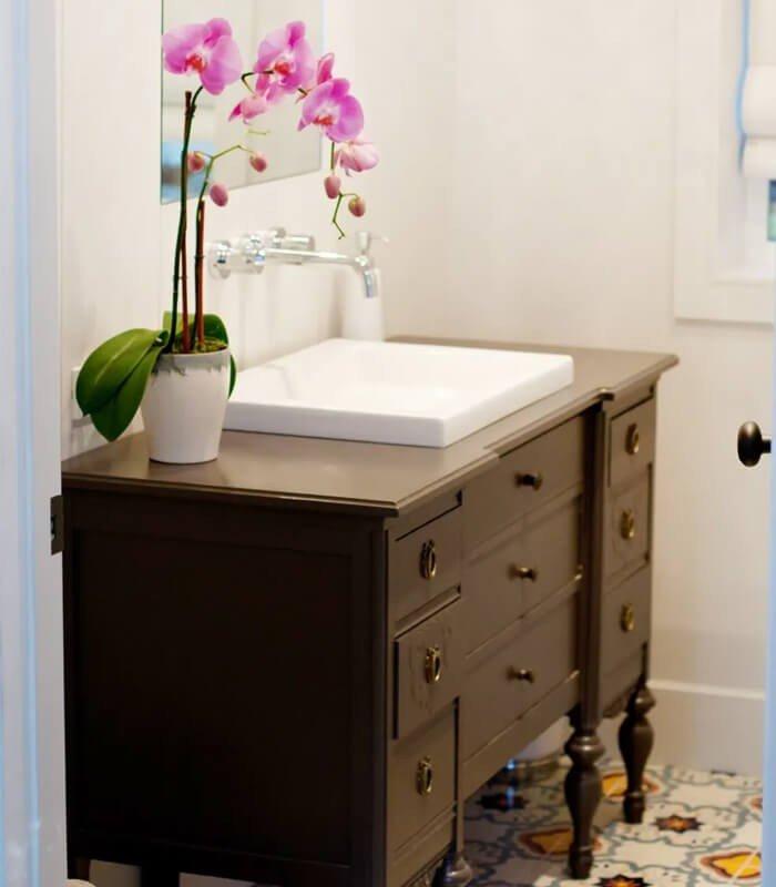 Piso Planta Móvel Banheiro