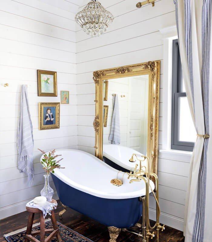 Banheiro com Decoração Elegante