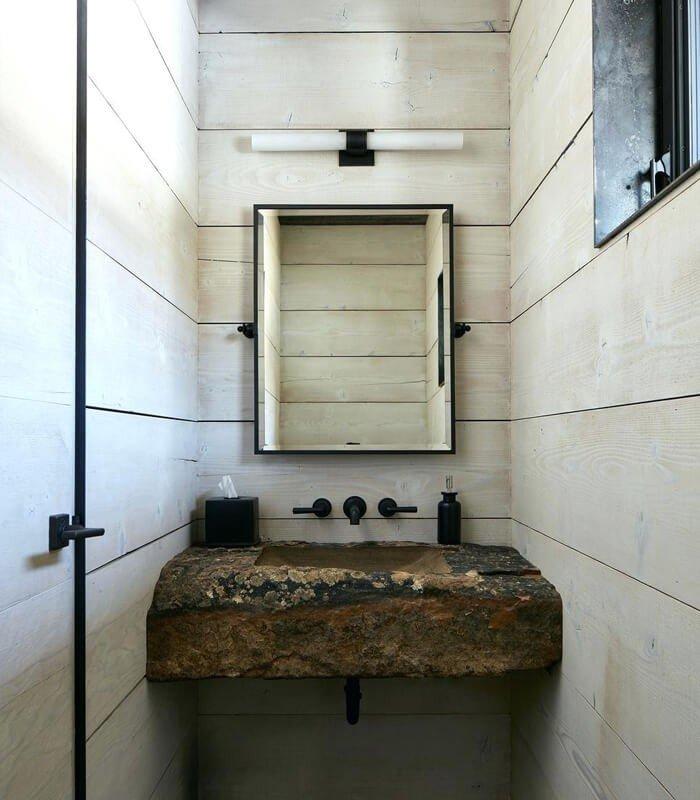Pedra Pia de Banheiro Decoração