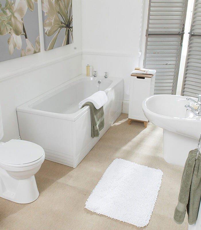 Branco Decoração Banheiro