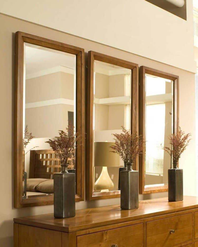 decoracao com espelhos