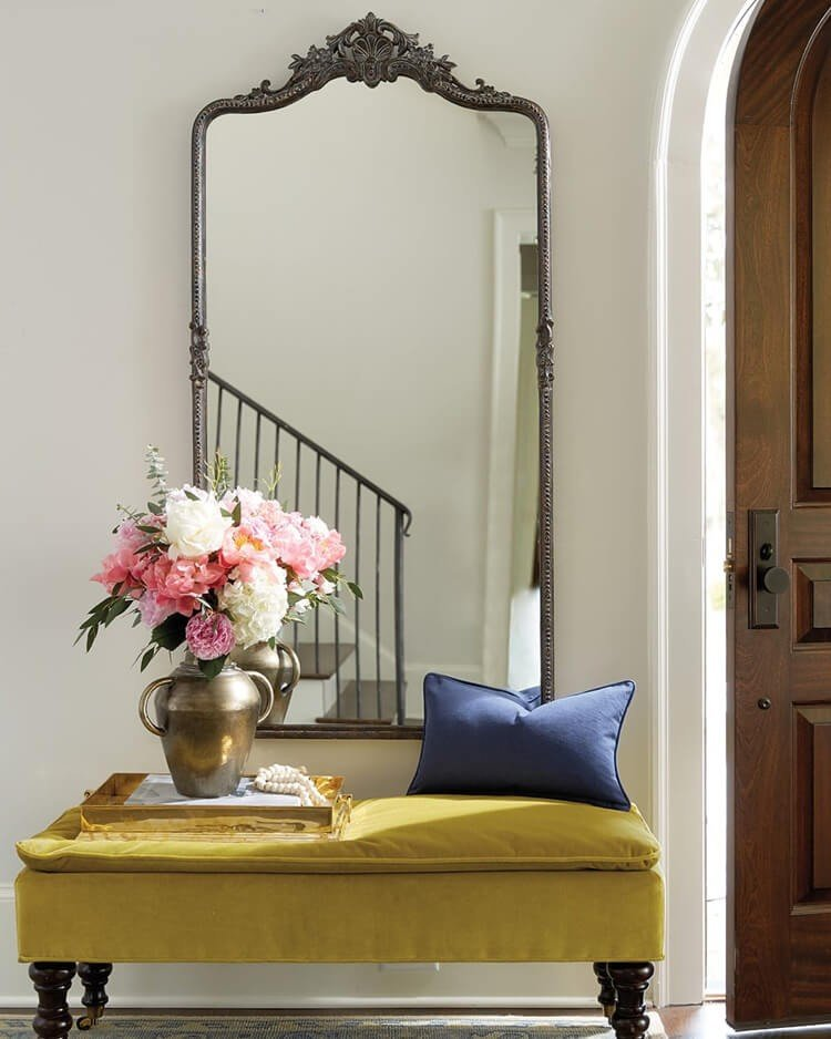 espelho decoracao entrada