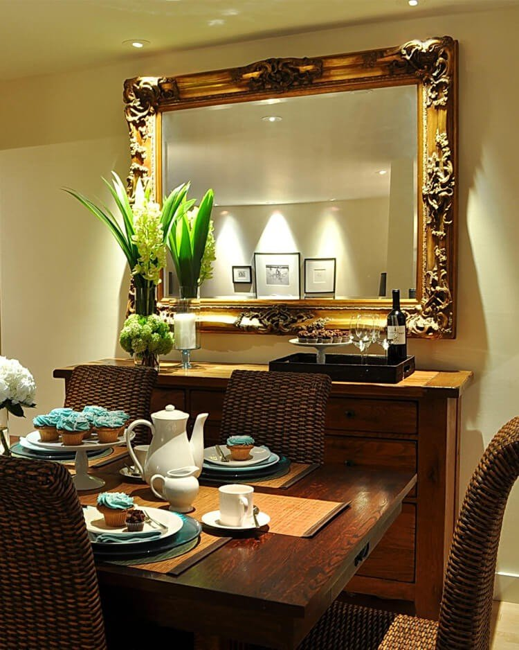 espelho decoracao sala de jantar