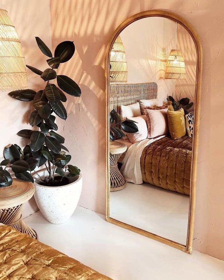 espelho decorativo quarto