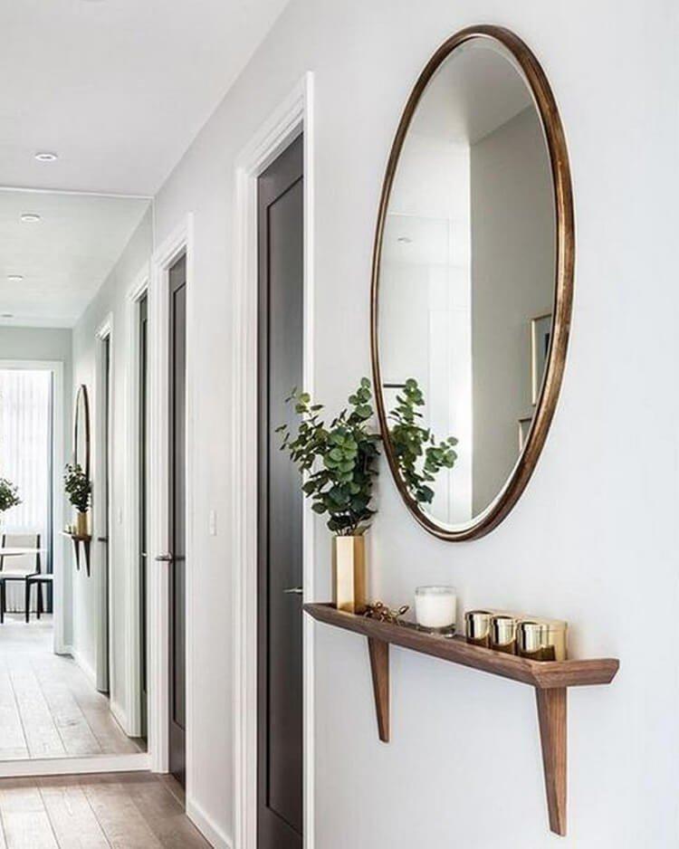 espelho redondo decoracao