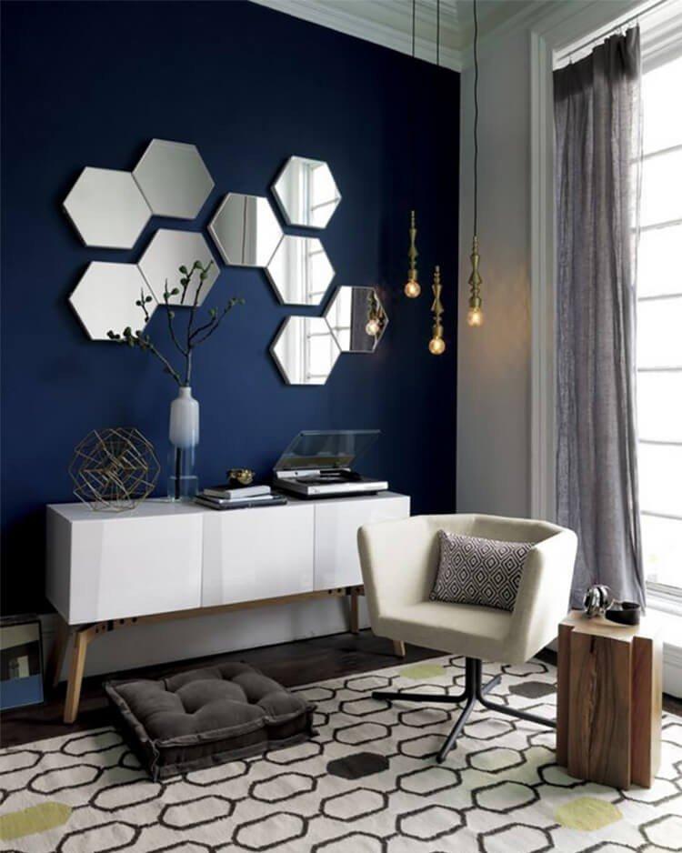 espelhos sala decoracao