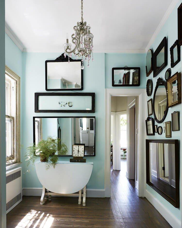 galeria de espelhos na decoracao