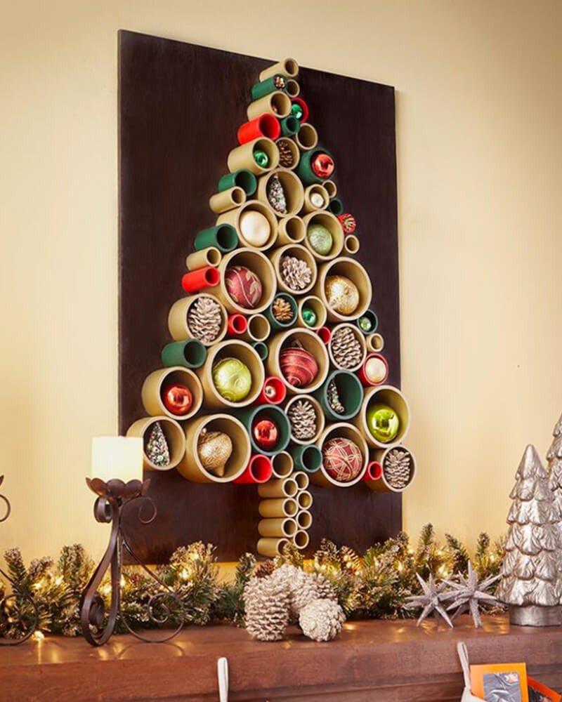 Árvore de Natal com Rolinhos
