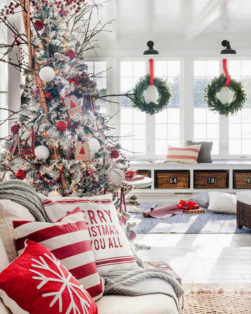 Almofadas de Natal Sala-de-Estar