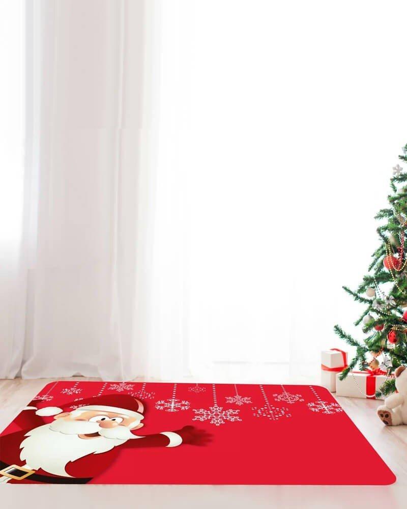 Decoração Natal Tapete Sala
