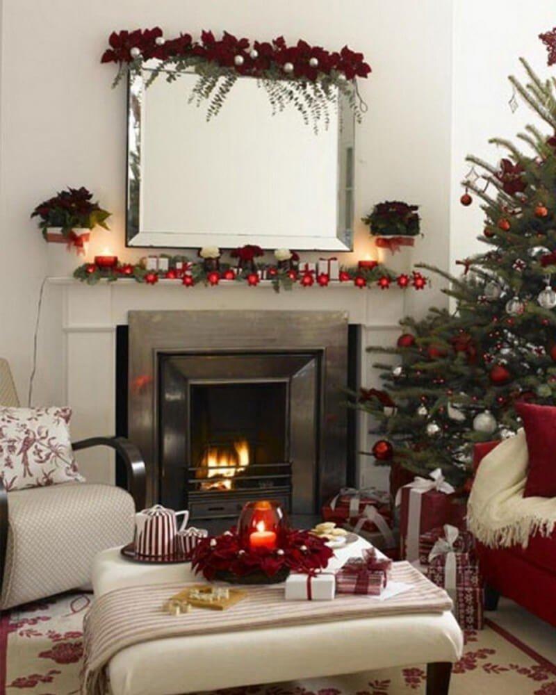 Decoração de Natal Mesa Sala