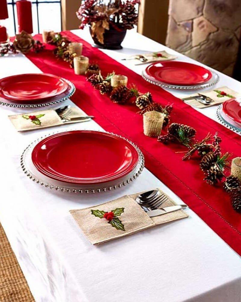 Prato Decoração Natal