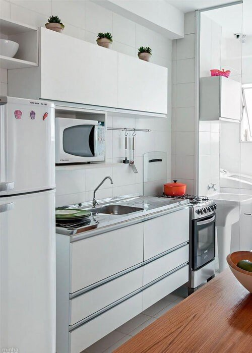 Cozinha Pequena Apartamento