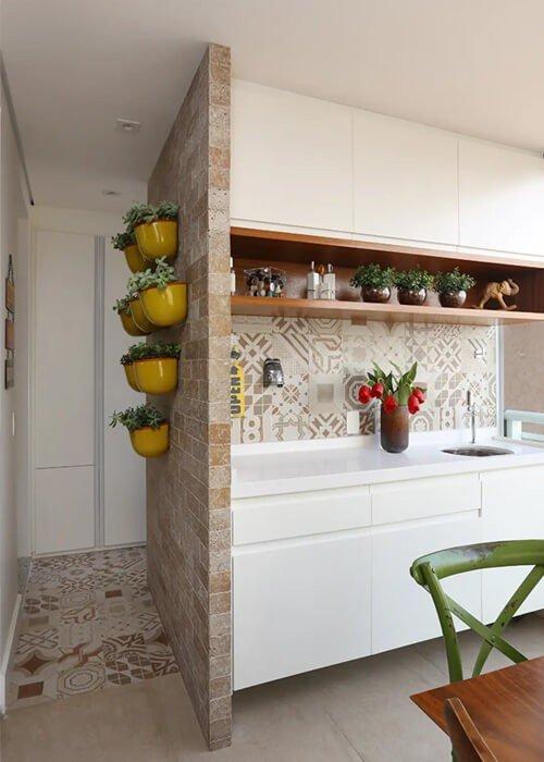 Decoração Apartamento Pequeno Cozinha Plantas