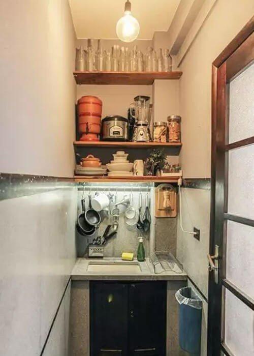 Cozinha Decoração Apartamento Pequeno
