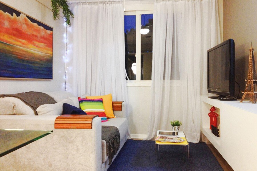Sala Pequena Apartamento Decorado