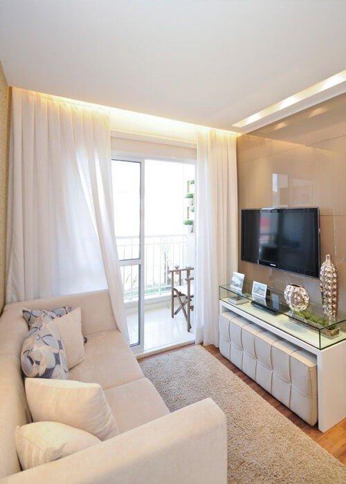 Decoração Apartamento Sala Pequena