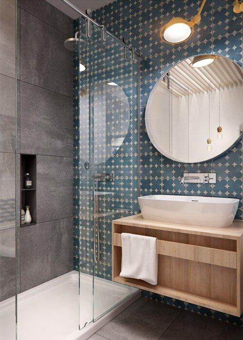 Banheiro Moderno Pequeno