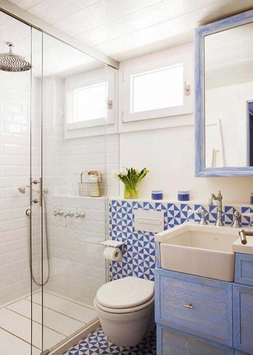 Cores Banheiro Pequeno Decoração