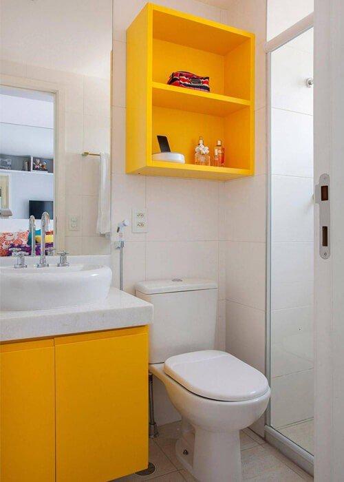 Decoração Apartamento Pequeno Banheiro Nicho