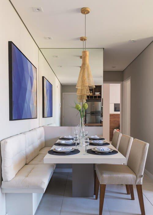 Modernidade Decora;'ao Apartamento Pequeno