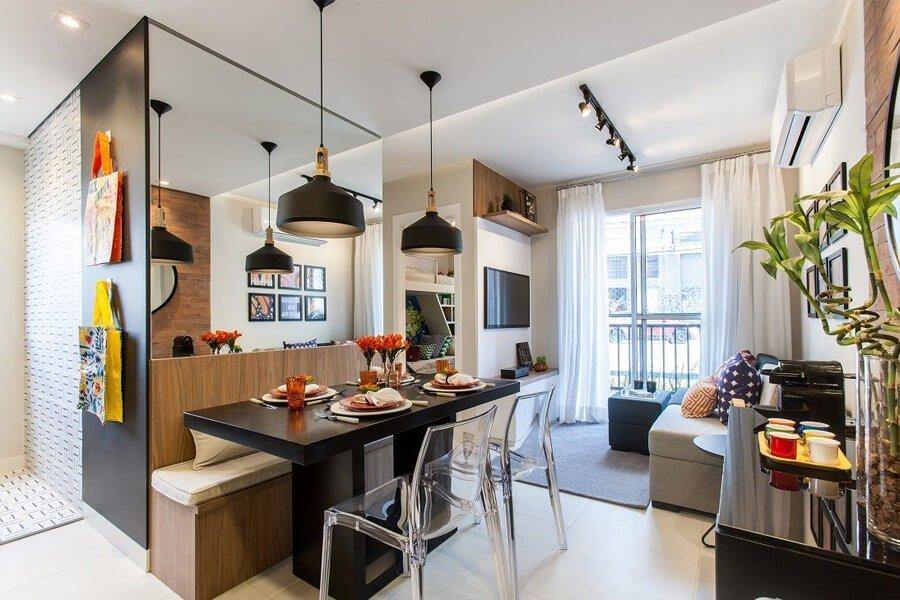 Iluminação Decoração Apartamento Pequeno