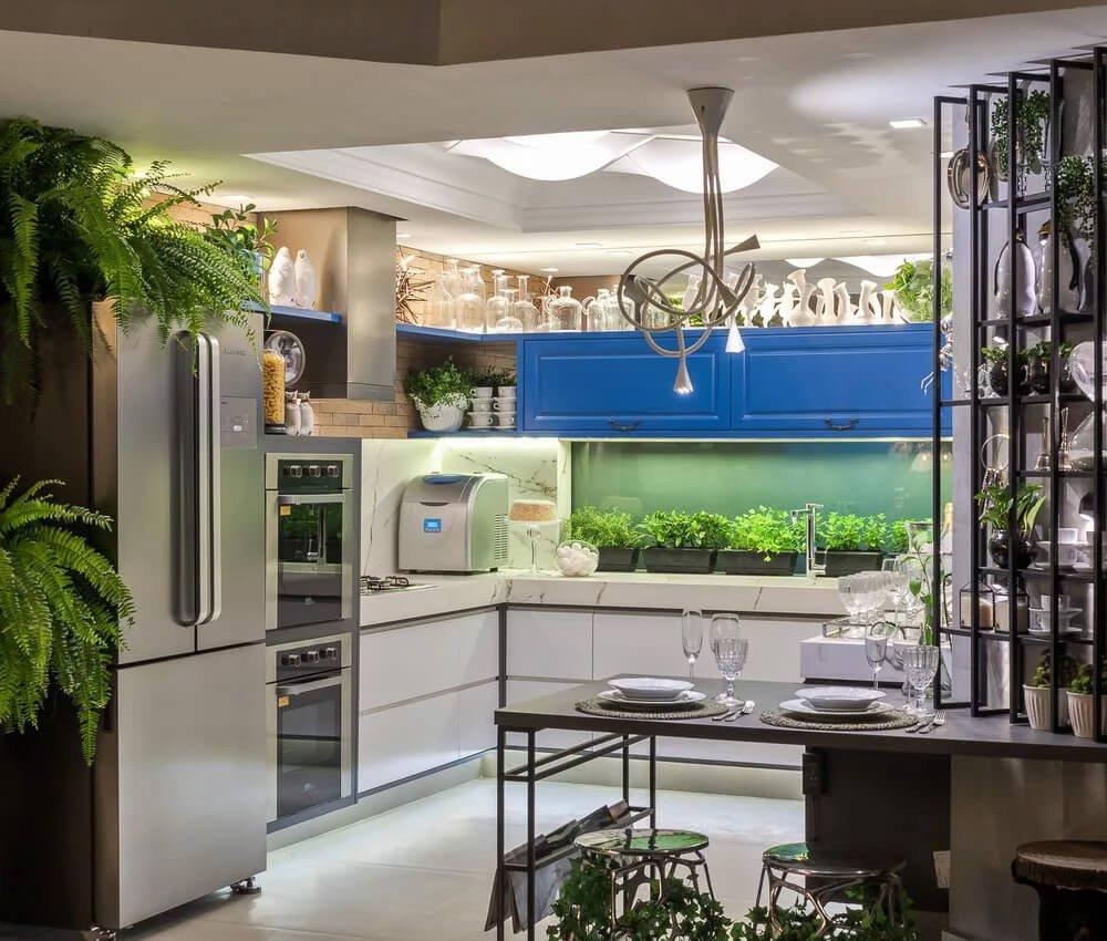 Plantas Iluminação Cozinha