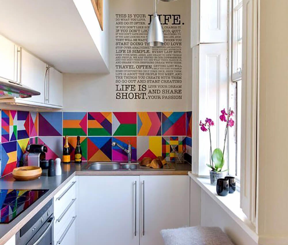 Clean Colorida Cozinha
