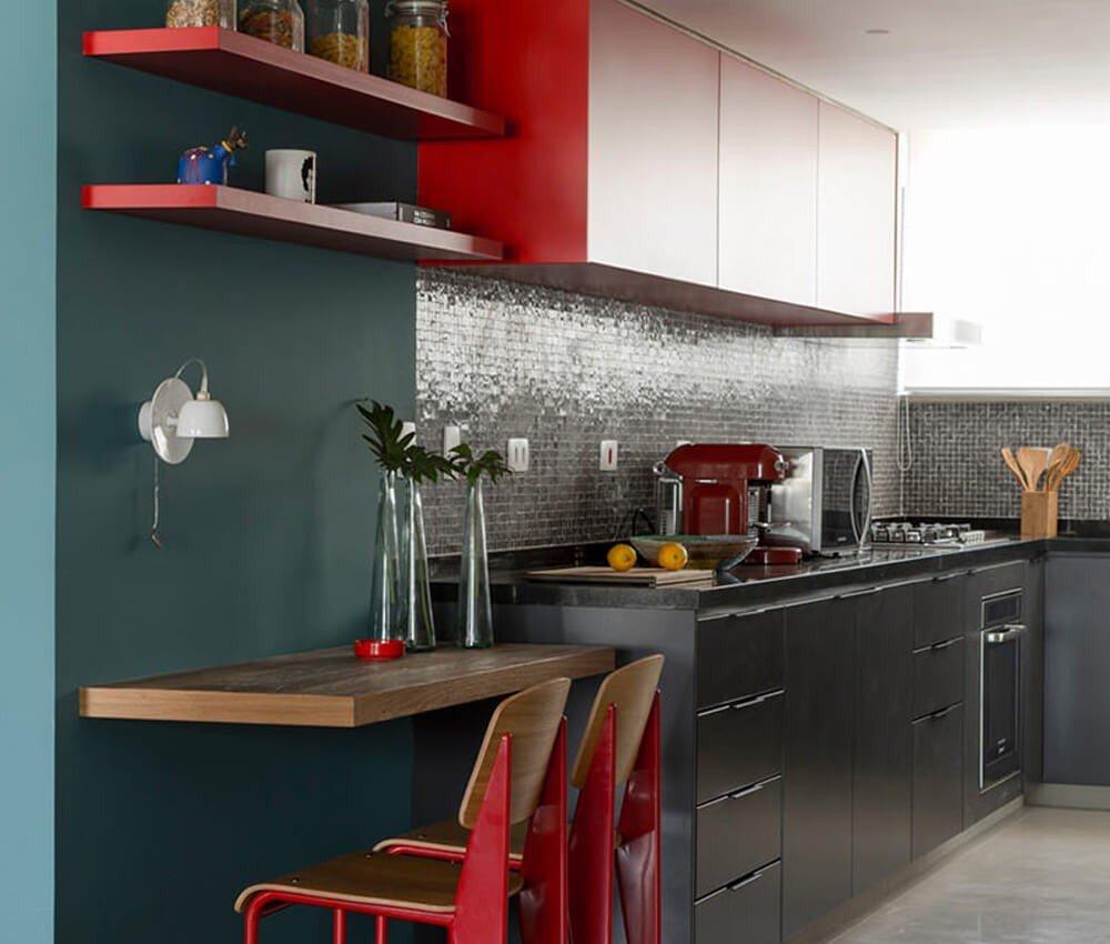 Decoração Cozinha Colorida