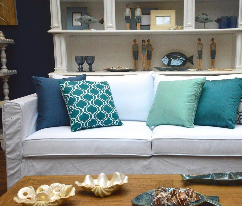 Altura Branco Sofá