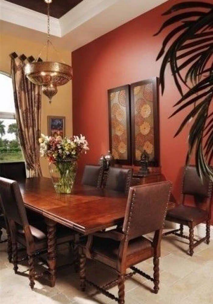 Sala-de-Jantar Vermelha