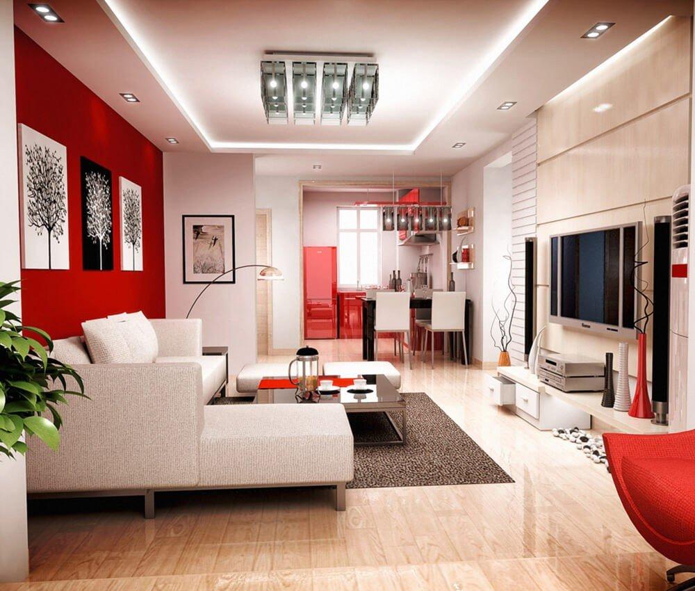 Decoração Vermelha Interior
