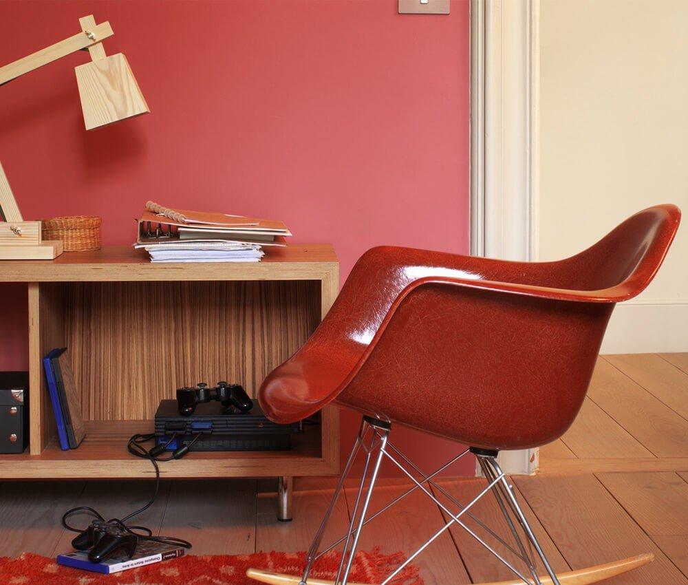 Cadeira Vermelha Decoração