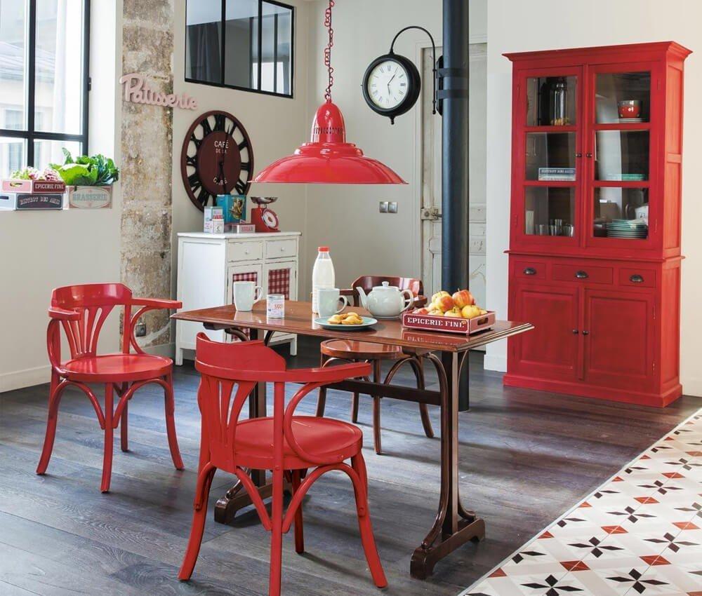 Móveis Vermelhos Cozinha