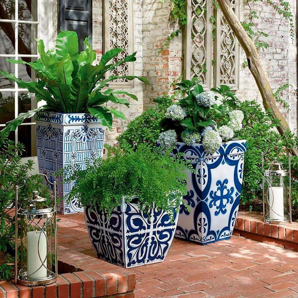Vasos Decorativos Azul