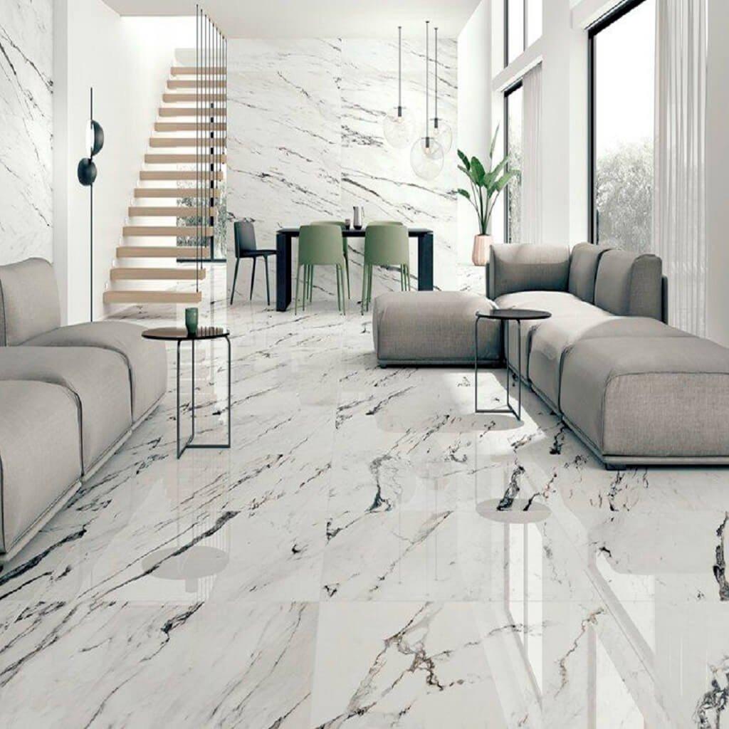 Decoração Mármore Carrara