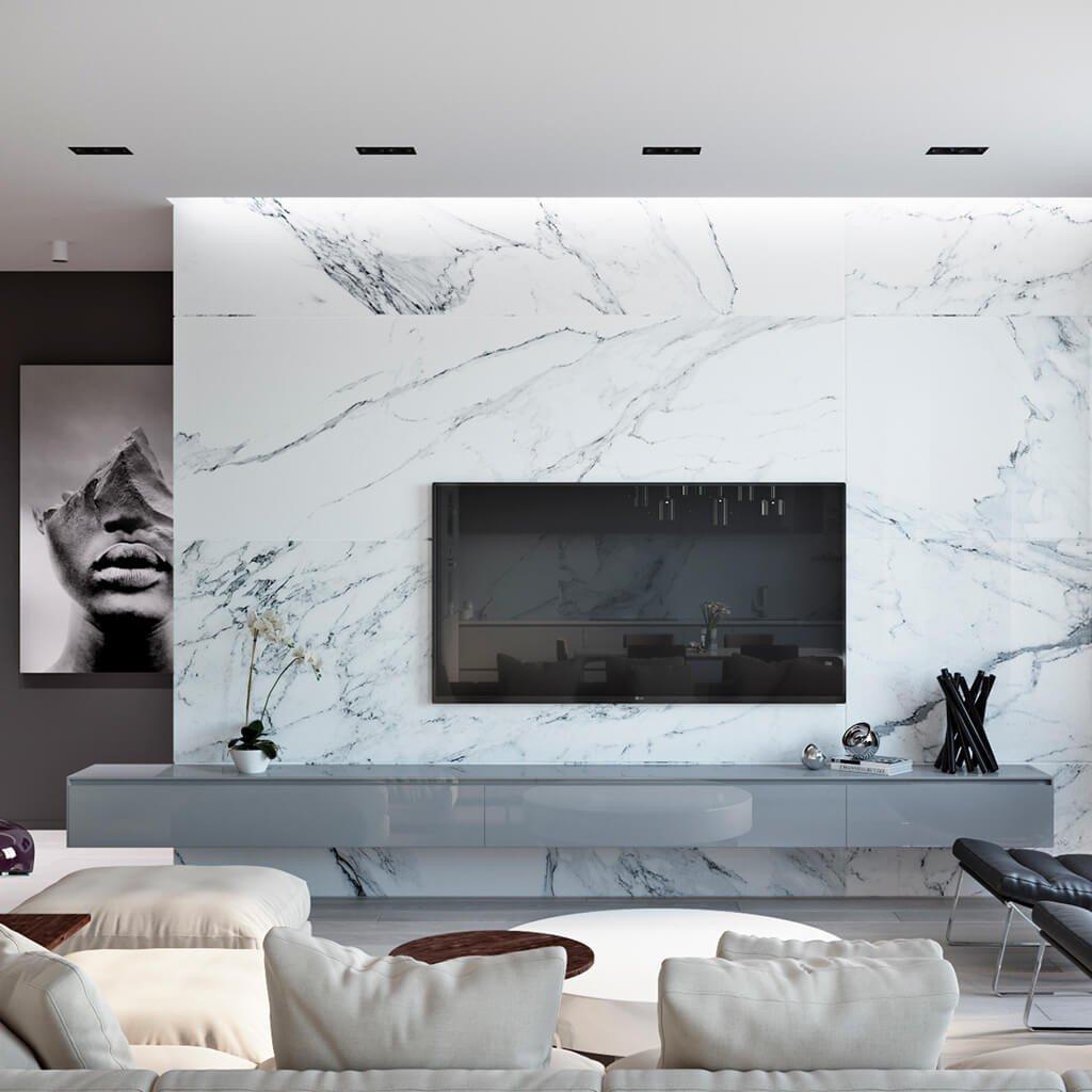 Painel Mármore Carrara