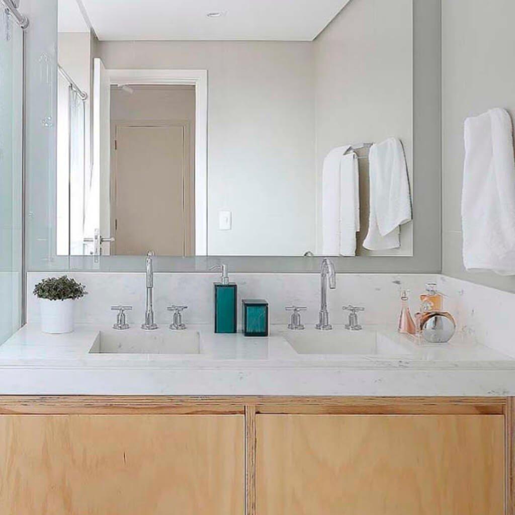Mármore Branco Piguês Banheiro