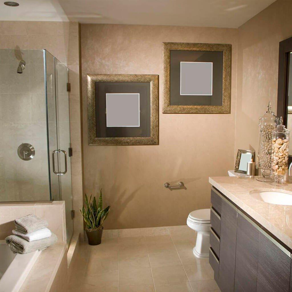 Banheiro Mármore Botticino