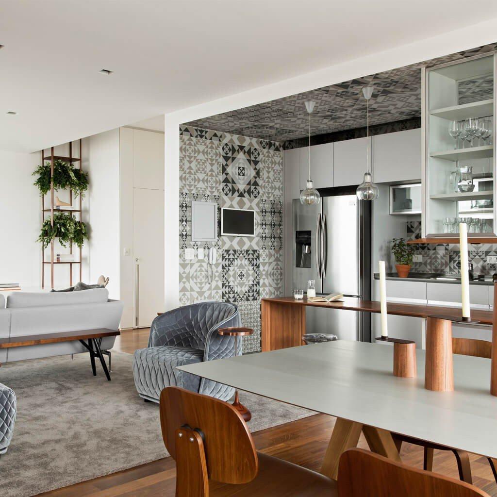 Cozinha Teto Pisos Decorativos