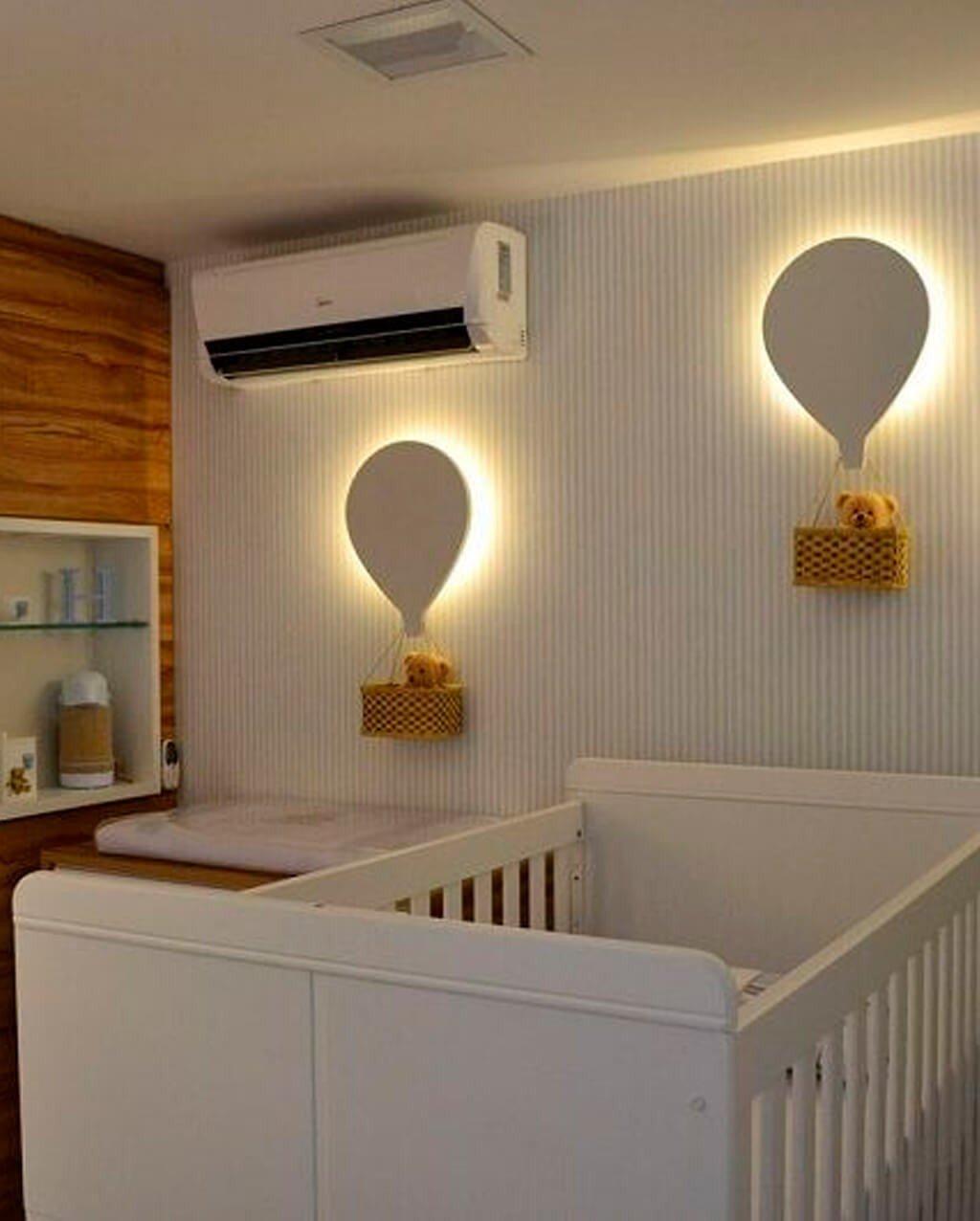 Detalhes Fita LED Quarto Bebê
