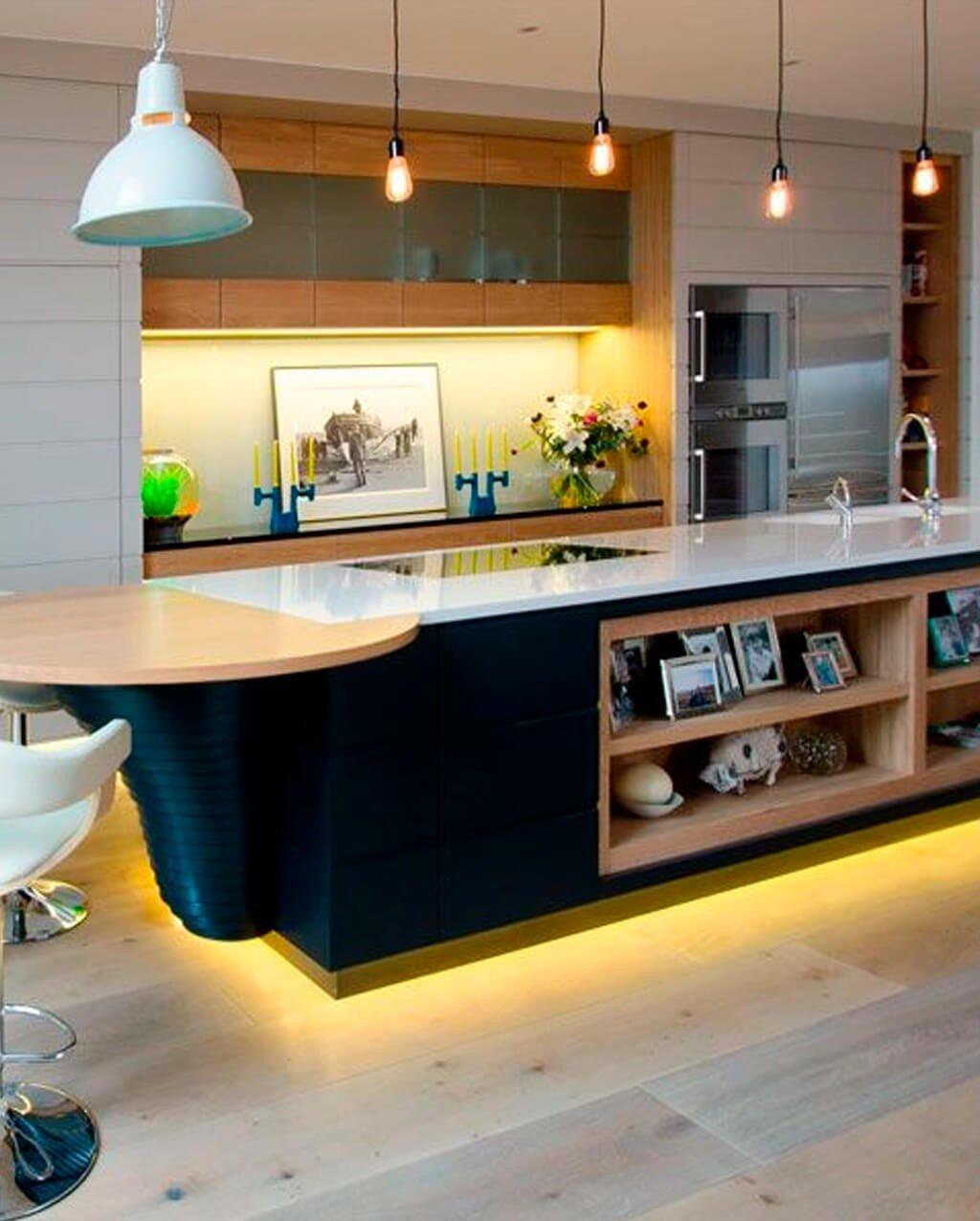 Fita LED Amarela Cozinha
