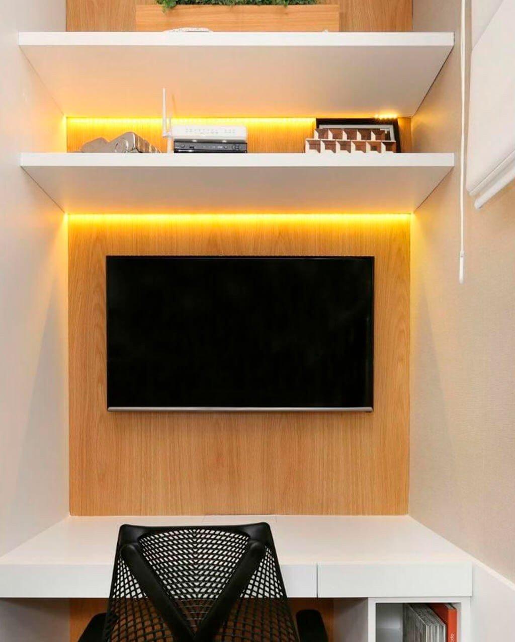 Fita LED Amarela Quarto