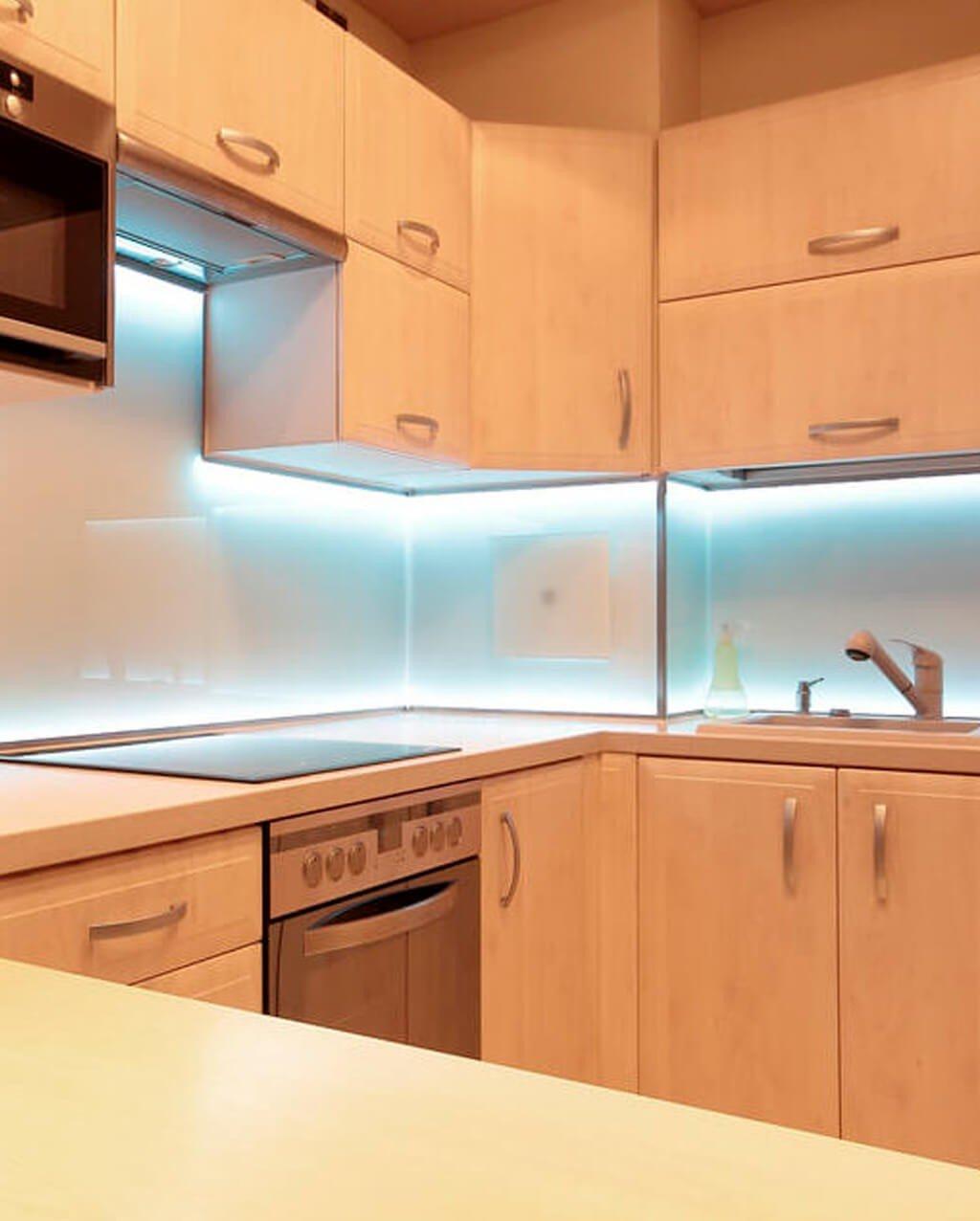 Fita LED detalhe Cozinha