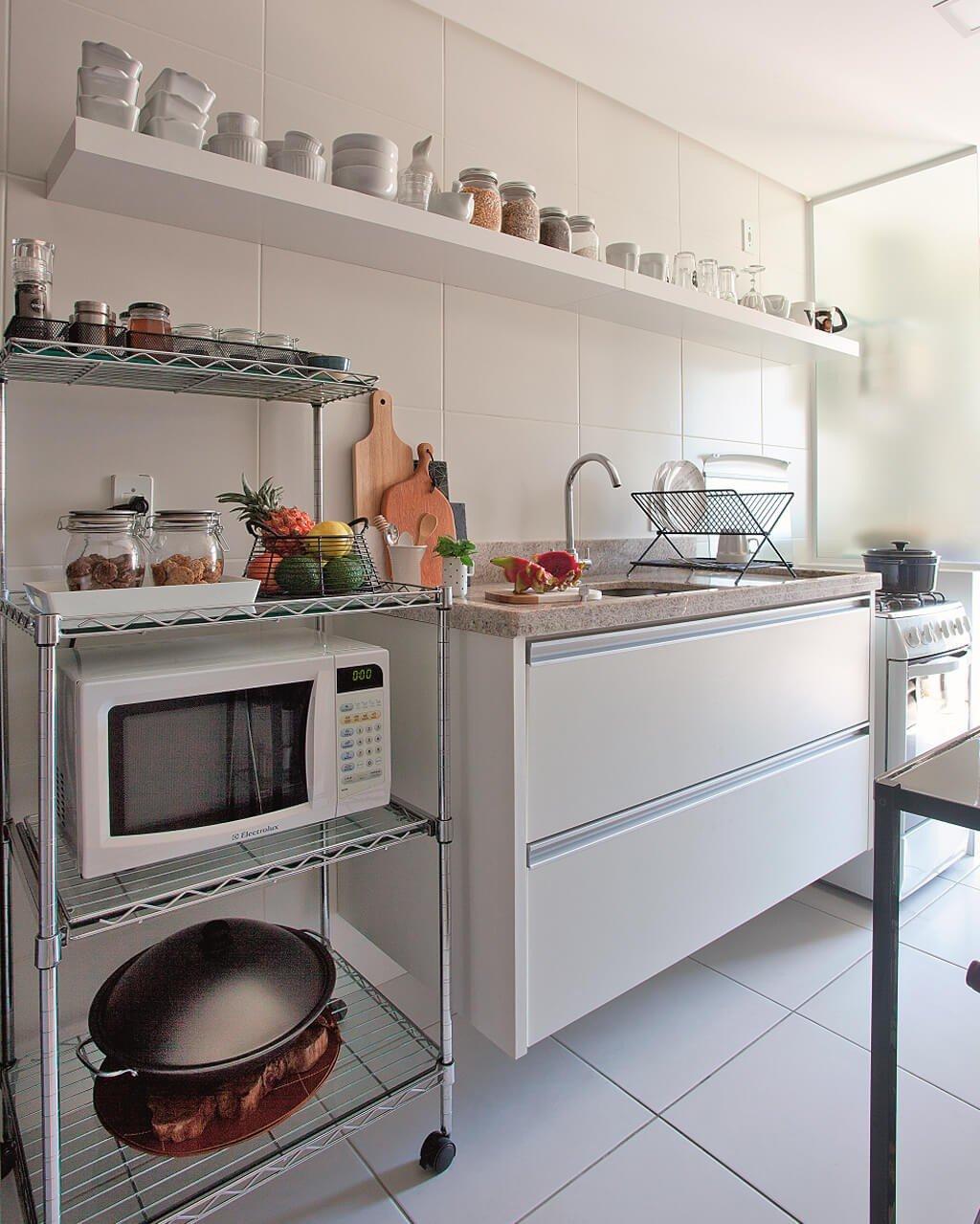 Cozinha Decorada Simples Moderna